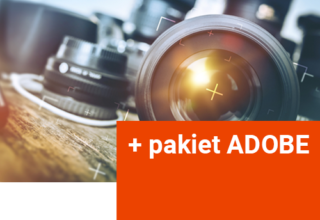 Kurs fotografii + pakiet ADOBE do 12.2021