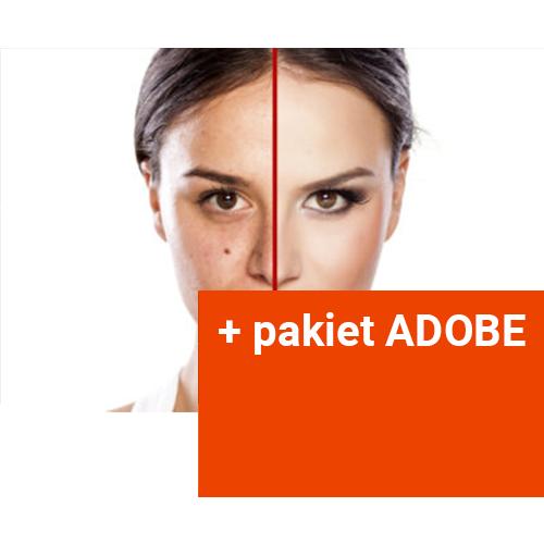 Kurs Photoshopa + pakiet Adobe do 12.2021