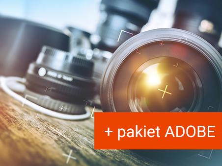 Kurs fotografii + pakiet ADOBE do 12.2021