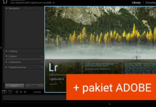 Kurs Lightrooma + pakiet Adobe do 12.2021