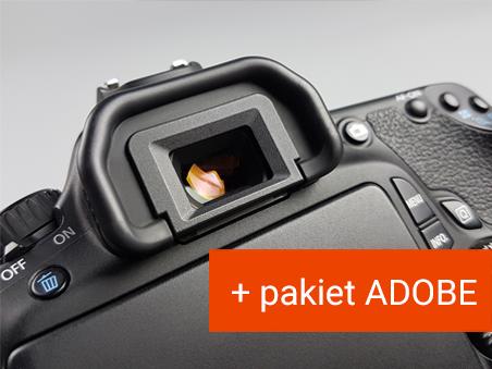Podstawy Fotografii + pakiet ADOBE do 12.2021